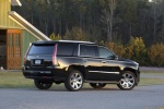 2015 Cadillac Escalade in Black Raven - Static Rear Right Three-quarter View