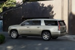 2015 Cadillac Escalade ESV in Silver Coast Metallic - Static Left Side View