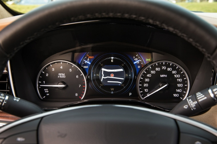 2017 Cadillac XT5 AWD Gauges Picture