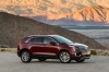 2018 Cadillac XT5 AWD in Red Passion Tintcoat from a front right three-quarter view