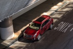 Picture of a 2019 Cadillac XT5 AWD in Red from a front left top perspective