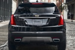 Picture of a 2019 Cadillac XT5 AWD in Dark Granite Metallic from a rear perspective