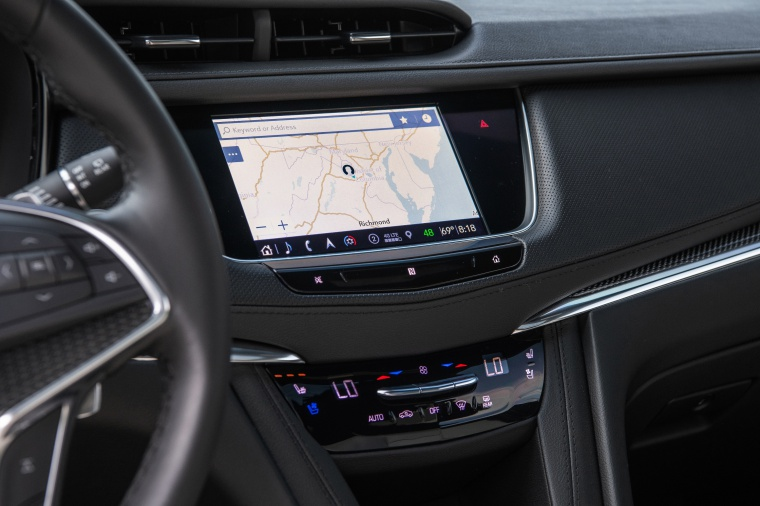 Picture of a 2020 Cadillac XT5 Sport AWD's Center Stack