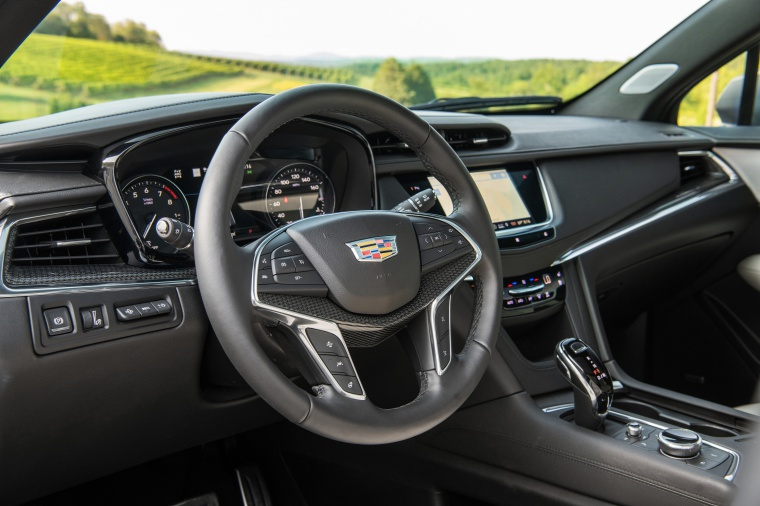 Picture of a 2020 Cadillac XT5 Sport AWD's Interior