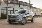 2020 Cadillac XT5 Premium Luxury AWD in Satin Steel Metallic - Static Front Left View