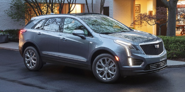 Research the 2020 Cadillac XT5