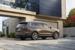 2020 Cadillac XT6 Premium Luxury AWD in Dark Mocha Metallic - Static Rear View