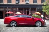 2016 Cadillac XTS Vsport AWD in Crystal Red Tintcoat from a side view