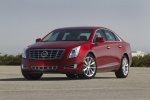 2017 Cadillac XTS AWD in Red Passion Tintcoat - Static Front Left View