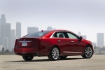 2017 Cadillac XTS AWD in Red Passion Tintcoat - Static Rear Right Three-quarter View