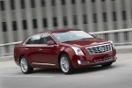 2017 Cadillac XTS AWD in Red Passion Tintcoat - Driving Front Right Three-quarter View