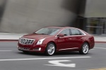 2017 Cadillac XTS AWD in Red Passion Tintcoat - Driving Front Left Three-quarter View