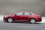 2017 Cadillac XTS AWD in Red Passion Tintcoat - Driving Left Side View