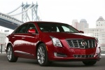 2017 Cadillac XTS Vsport AWD in Red Passion Tintcoat - Static Front Right Three-quarter View