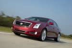 2017 Cadillac XTS Vsport AWD in Red Passion Tintcoat - Driving Front Left View