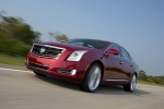 2017 Cadillac XTS Vsport AWD in Red Passion Tintcoat - Driving Front Left Three-quarter View