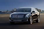 2017 Cadillac XTS in Phantom Gray Metallic - Static Front Left Three-quarter View