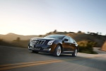 2017 Cadillac XTS in Phantom Gray Metallic - Driving Front Left Three-quarter View