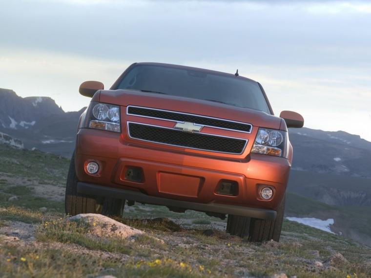 2011 Chevrolet Avalanche Inferno Orange Metallic Picture