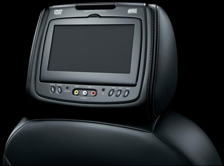 2011 Chevrolet Avalanche Headrest Screen Picture