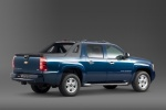 2011 Chevrolet Avalanche in Imperial Blue Metallic - Static Rear Right Three-quarter View