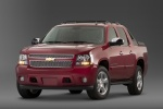 2011 Chevrolet Avalanche in Victory Red - Static Front Left Three-quarter View
