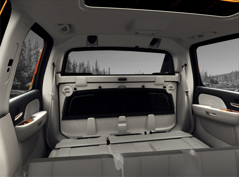 2012 Chevrolet Avalanche Middle Gate Picture