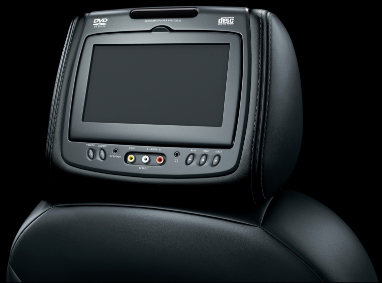 2012 Chevrolet Avalanche Headrest Screen Picture