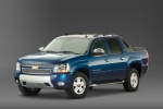 2012 Chevrolet Avalanche in Imperial Blue Metallic - Static Front Left Three-quarter View