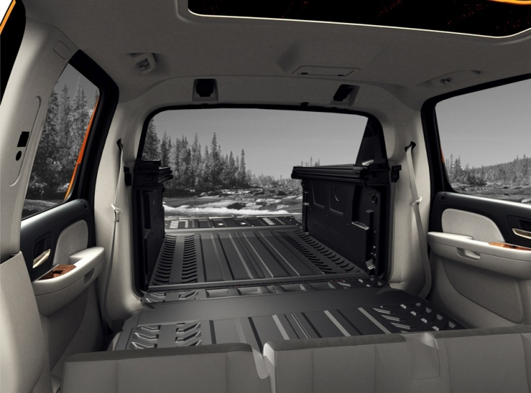2013 Chevrolet Avalanche Middle Gate Picture Pic Image