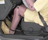 2011 Chevrolet Aveo IIHS Frontal Impact Crash Test Picture