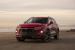 2019 Chevrolet Blazer RS AWD in Red Hot - Static Front Left View