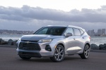 2019 Chevrolet Blazer Premier AWD in Silver Ice Metallic - Static Front Left View