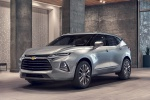 2019 Chevrolet Blazer Premier AWD in Silver Ice Metallic - Static Front Left Three-quarter View