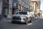 2019 Chevrolet Blazer Premier AWD in Silver Ice Metallic - Driving Front Left View