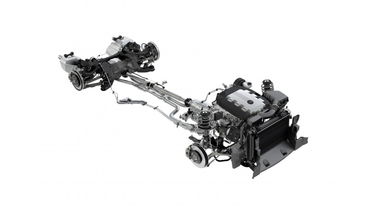 2010 Chevrolet Camaro Drivetrain Picture