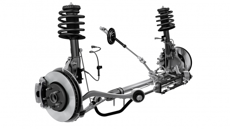 2010 Chevrolet Camaro Front Suspension Picture