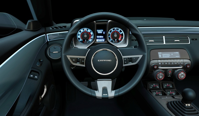 2010 Chevrolet Camaro Cockpit Picture