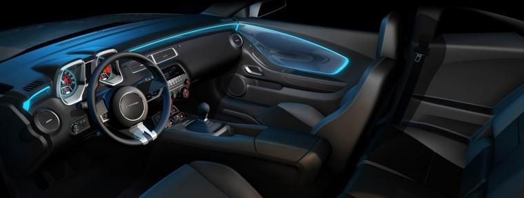 2010 Chevrolet Camaro Interior Picture