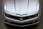 2010 Chevrolet Camaro SS Coupe in Silver Ice Metallic - Static Frontal Top View