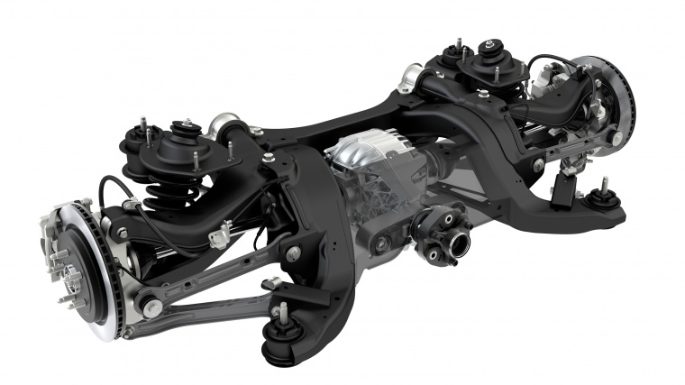 2011 Chevrolet Camaro Rear Suspension Picture
