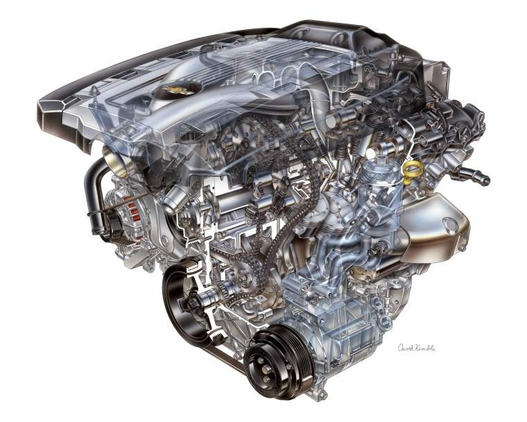 2011 Chevrolet Camaro 3.6-liter V6 Engine Picture