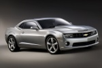 2011 Chevrolet Camaro SS Coupe in Silver Ice Metallic - Static Front Right Three-quarter View