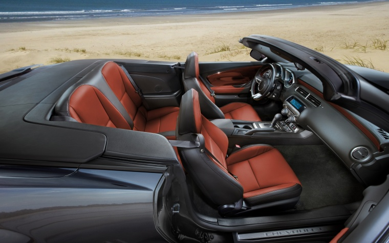 2012 Chevrolet Camaro RS Convertible Interior Picture