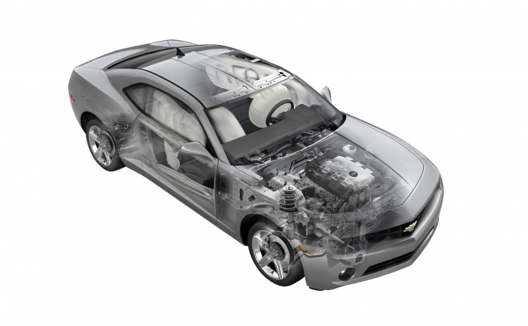 2012 Chevrolet Camaro Technology Picture