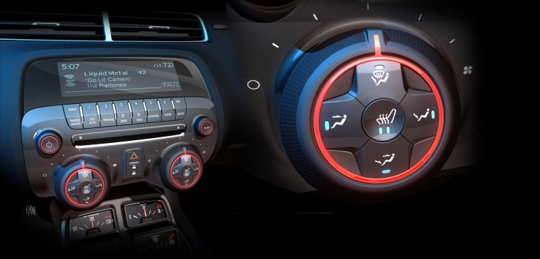 2012 Chevrolet Camaro Center Stack Picture