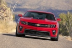 2012 Chevrolet Camaro ZL1 Coupe in Victory Red - Driving Frontal View