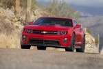 2012 Chevrolet Camaro ZL1 Coupe in Victory Red - Driving Front Left View