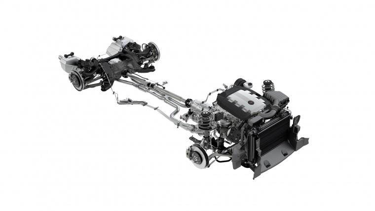 2013 Chevrolet Camaro Drivetrain Picture