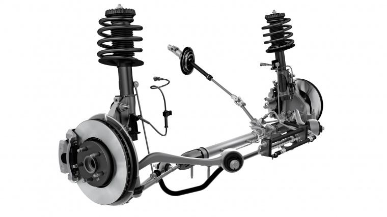 2013 Chevrolet Camaro Front Suspension Picture